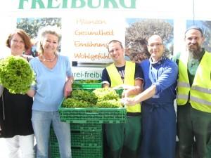 Salate und Gemüse aus dem Mundenhof-Tafelgarten ...