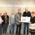 Herr Kaiser, Frau Kaiser, Herr Faller (Kaisers Backstube), Herr Strowitzki (Messe Freiburg), Lothar Volkelt (Tafel Freiburg) und Frau Birgit Kaiser